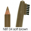 natural brow waterproof eyebrow liners NBT04